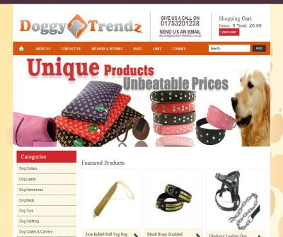 Genuine Leather Dog Collars,  Leads & Harnesses, Staffordshire Bull Terrier Harnesses & Leads