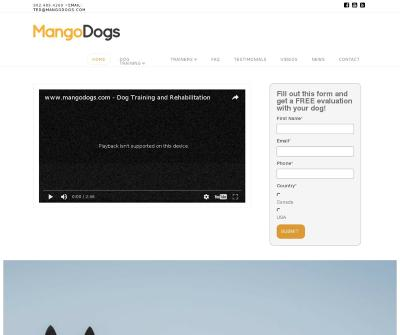 Mango Dogs - Halifax Nova Scotia''s Premier Dog Training Company