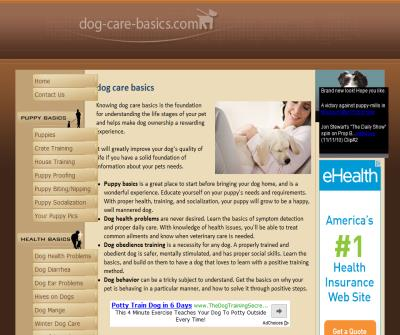 Dog Care Basics