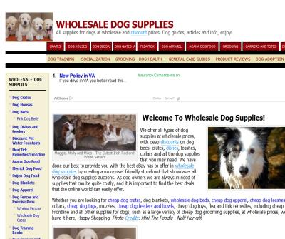Wholesale Dog Supplies